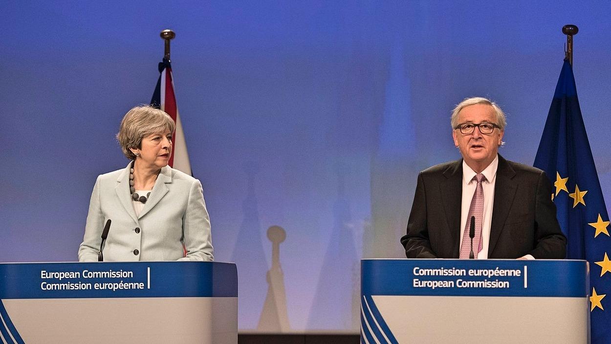 May Junker EU Brexit
