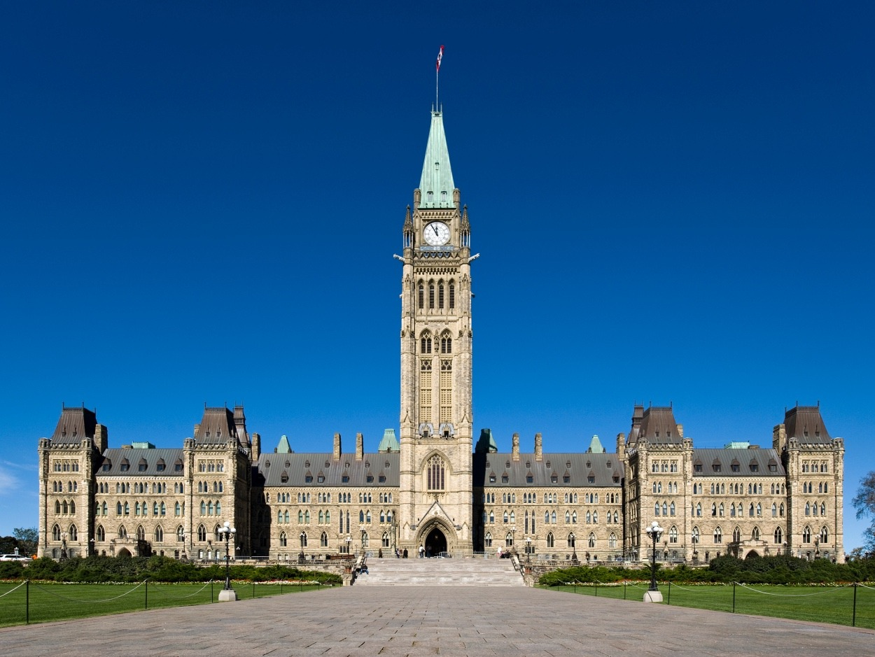 Centre Block Parliament Peace Tower